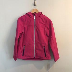 NEW Michael Kors Pink Girls Coat Jacket Hooded 16